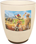 2008 Kentucky Derby Ceramic Shot Glass