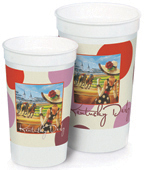 Kentucky Derby Paper Party Cups