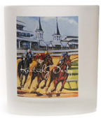2008 Kentucky Derby Double Old Fashion Glass