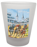 Kentucky Derby Shot Glass